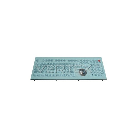 IP68 Industrial Keyboard Membrane - Panel Mount Trackball