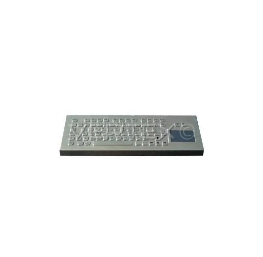 Clavier Industriel Desktop IP65 en Acier Inox - Touchpad