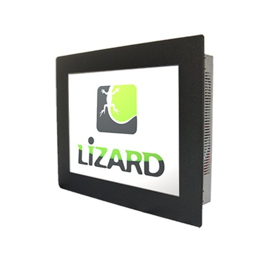 21.5 inches Lizard Steel Industrial Monitor - Panel Mount IP65 RAL9005