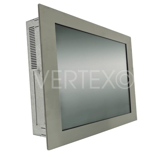 "Panel PC 21"" Inox - Ligne Lizard - IP65 en face avant"