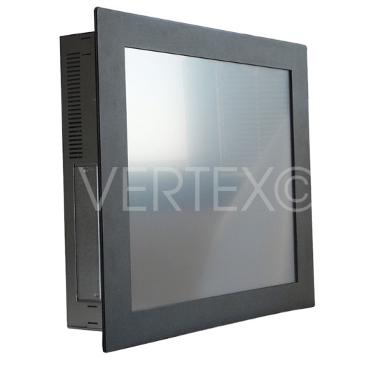 17 inches Lizard Steel Industrial Monitor - Panel Mount IP65 RAL9005