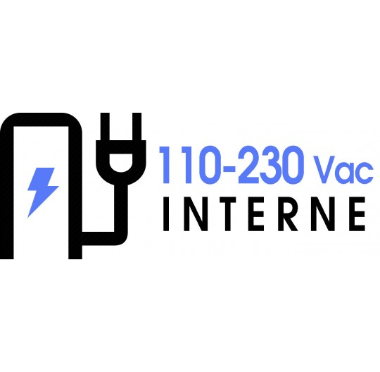 110-230 Vac INTERNAL POWER SUPPLY